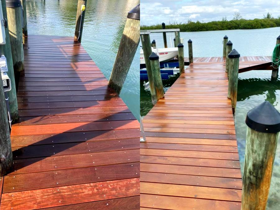 Dock Restoration service Sarasota to Venice, FL